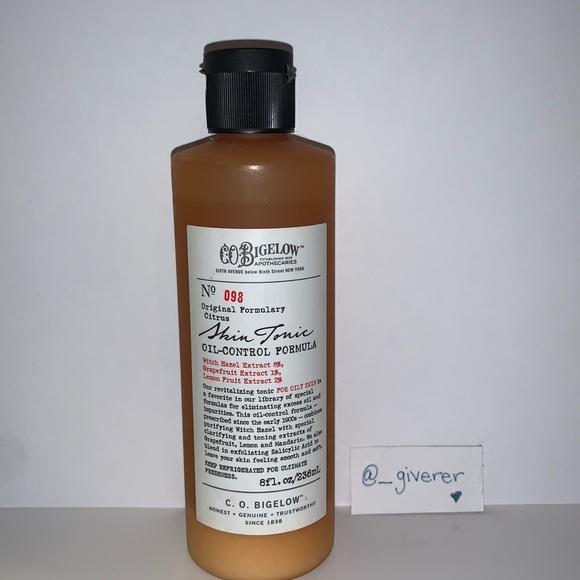 Skin Tonic Oil-Control Formula C.O. Bigelow Citrus